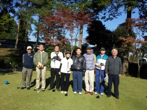 ゴルフ部会 紅葉杯 25年11月16日